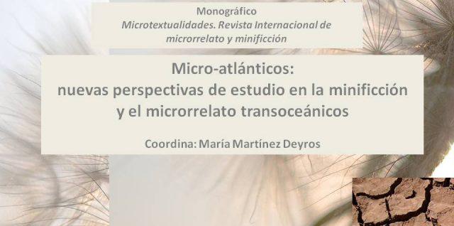 Convocatoria de Monográfico: Micro-atlánticos: nuevas perspectivas de estudio en la minificción y el microrrelato transoceánicos