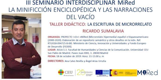 III Seminario Interdisciplinar MiRed